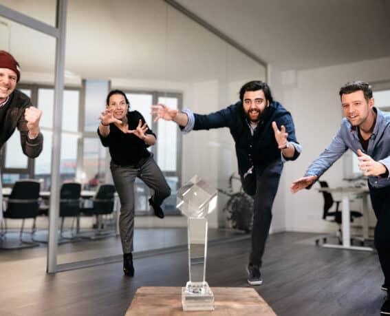 Beitragsbild Deutscher Agenturpreis 2020 spec. Team